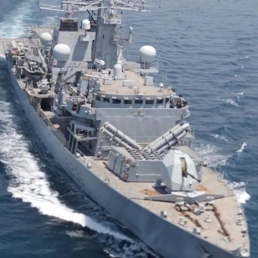 How the Royal Navy is standing up to the growing Iranian threat