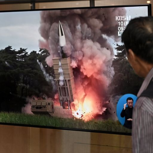 North Korea launches two projectiles hours after offering to resume talks with the US