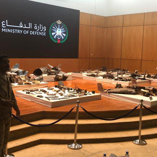 Saudis' display is extraordinary