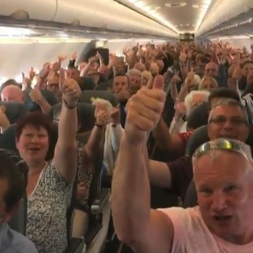 Thomas Cook's final flight: Crew moved to tears by passenger whip-round