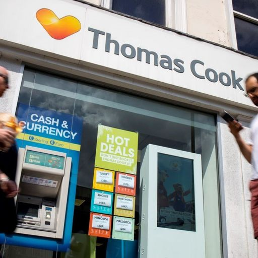 Thomas Cook begs lenders to slash £200m demand