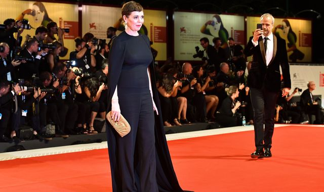 Olivia Colman: The cape that helped actress overcome her fear of the limelight