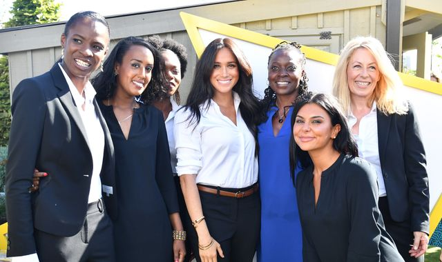 Meghan: Duchess of Sussex helps unemployed women dress for success
