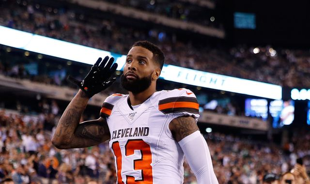 Odell Beckham Jr scores career-long touchdown as Cleveland Browns dismiss New York Jets
