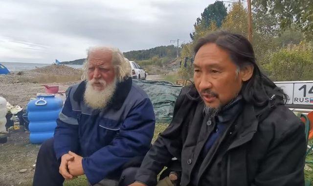 Shaman on cross-country trek across Russia to expel 'demon' Putin arrested