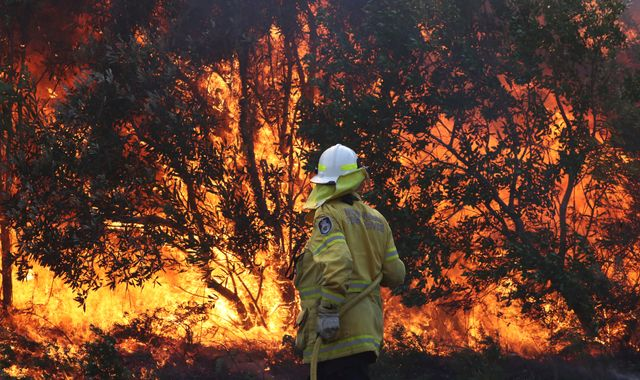 Teenagers charged as Australia's bushfires continue