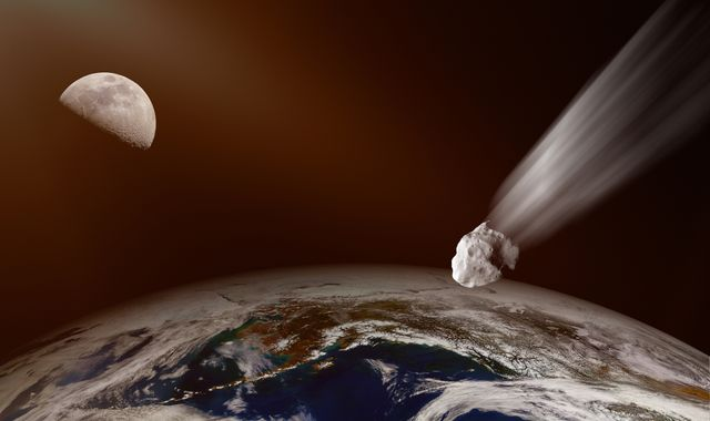 Two asteroids flying by Earth pose no risk