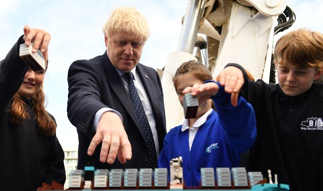 Boris Johnson says bridge from N Ireland to Scotland can be built for 'only £15bn'