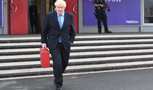 Corbyn queries 'alleged abuse of power' by Boris Johnson after newspaper claims