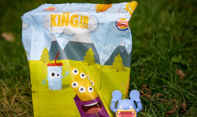 Burger King removes all plastic toys from kids meals