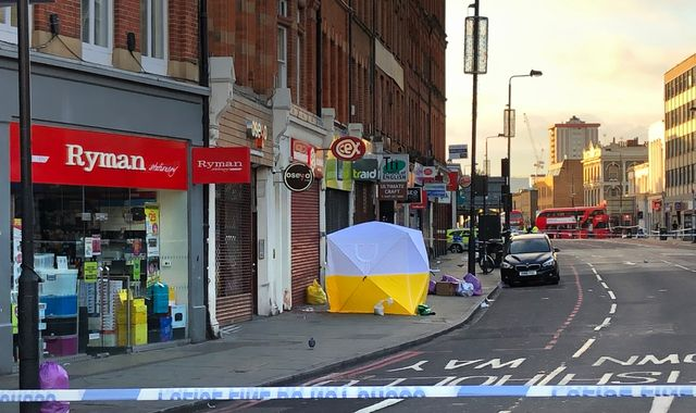 Man dies after two found stabbed on Camden High Street