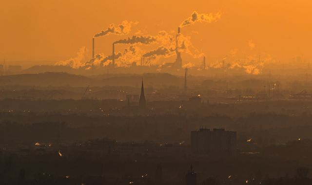 Current Paris accord climate targets 'no longer enough', UN envoy tells Sky