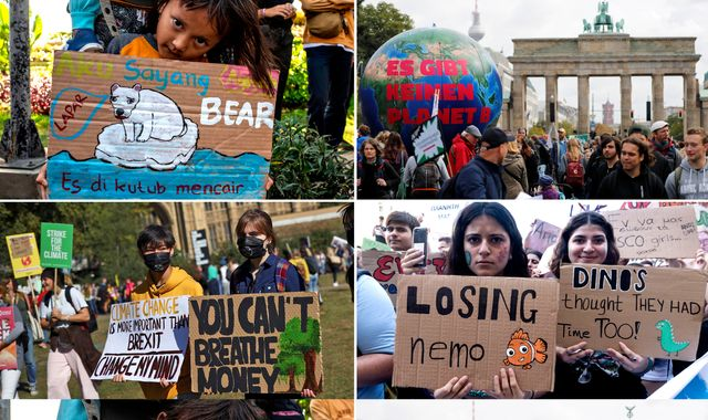 'We will make them hear us': Millions call for more action on climate change