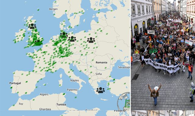 Climate strikes interactive: How the planet is protesting