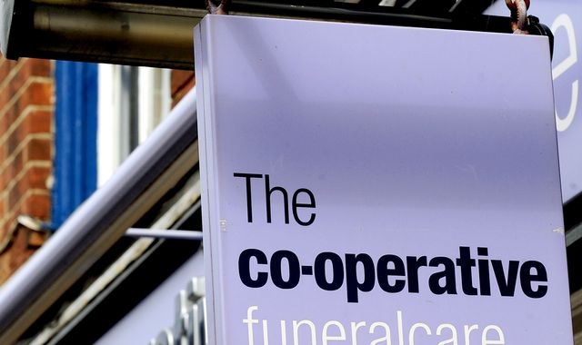 Co-op's funeral business hit as death rate falls