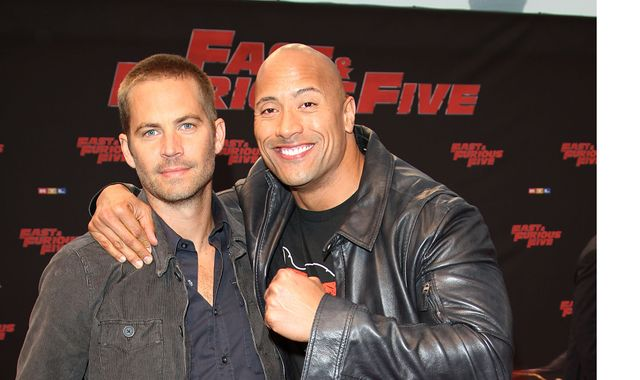 The Rock pays tribute to the late Paul Walker on what would have been his birthday