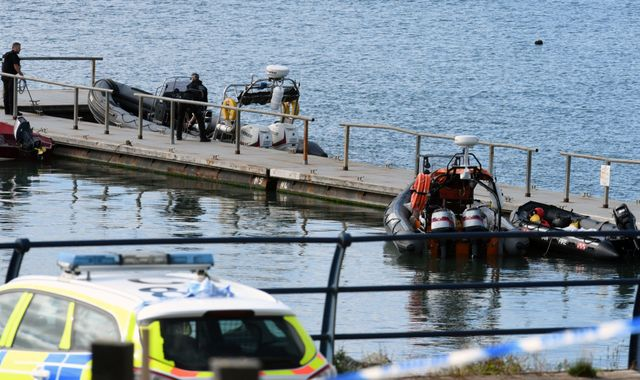 Firefighter, 35, killed after two boats collide at marina in Wales