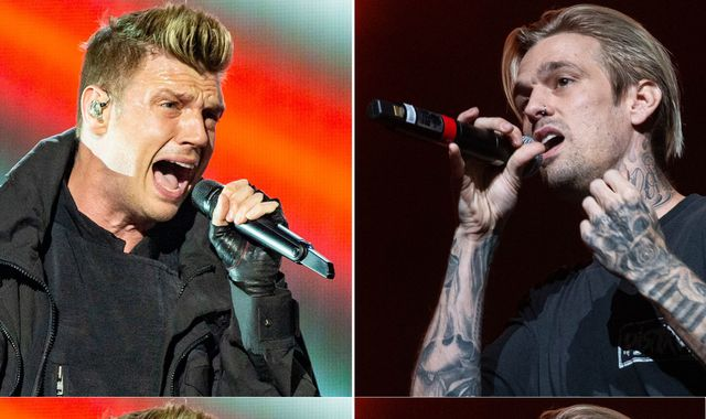 Backstreet Boys' Nick Carter serves restraining order on pop star brother Aaron