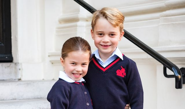 Resultado de imagen de Prince George and Princess Charlotte's school hit by coronavirus fears as four pupils are isolated