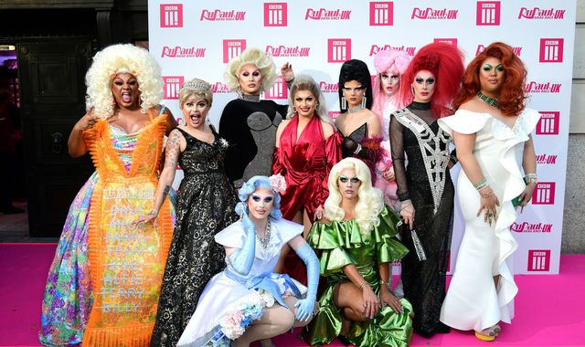 Camp meets politics: Queens on the pink carpet of Drag Race UK premiere