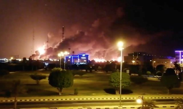 Attack on Saudi oil facilities came from inside Iran - US reports