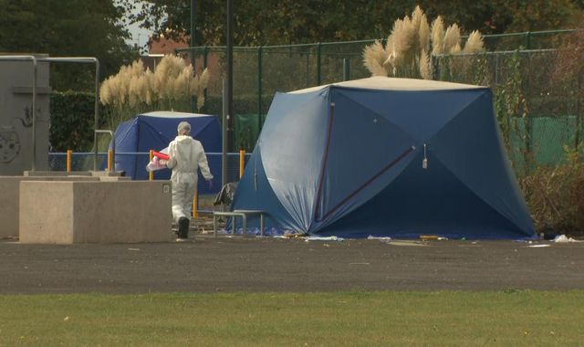 Three boys arrested after teen stabbed to death in a Slough skate park
