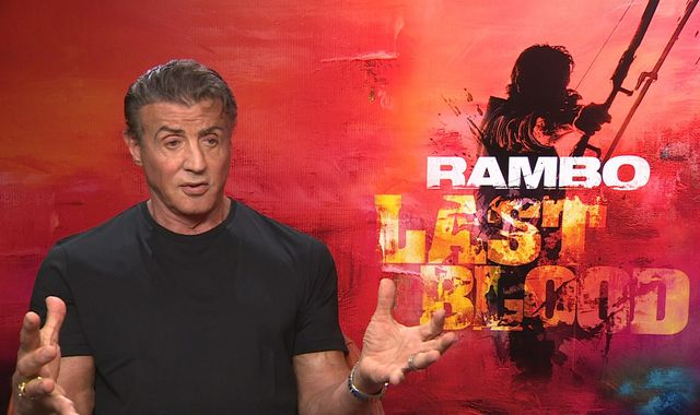 Sylvester Stallone talks about mental health, roles for men and tackling human traffickers