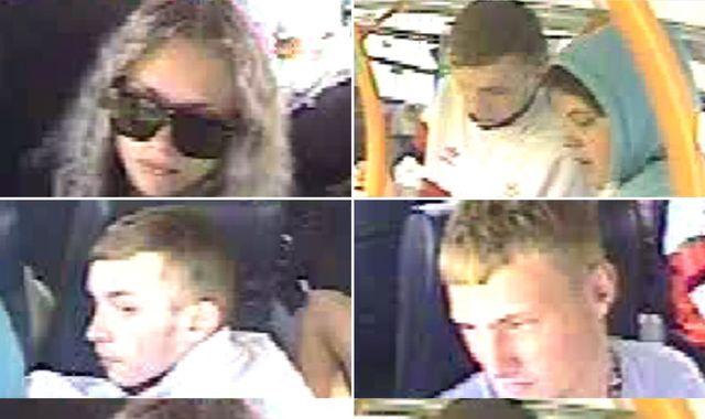 Police hunt elderly woman over bizarre 'assault' on bus