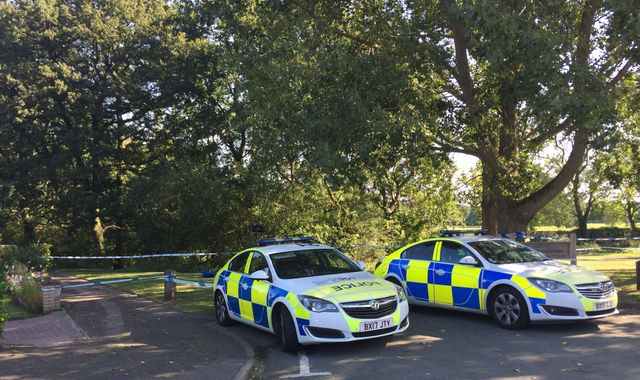 Man, 19, arrested after woman's body found in a stream in Tamworth