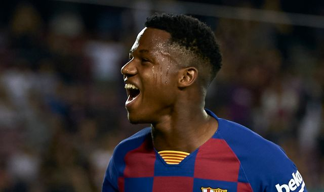 Ansu Fati: Barcelona's 16-year-old record-breaker