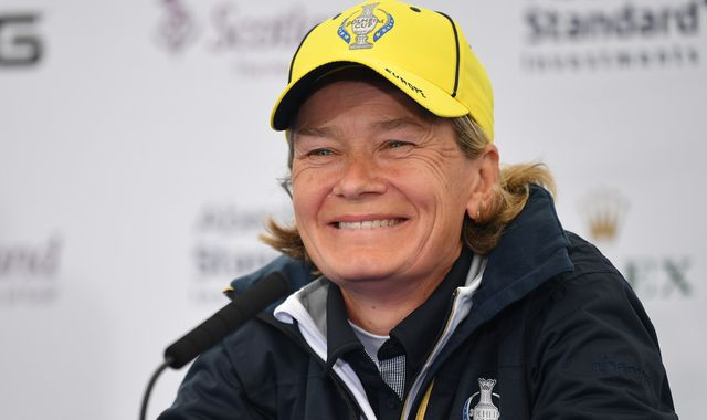 Catriona Matthew retains Solheim Cup captaincy for 2021 contest