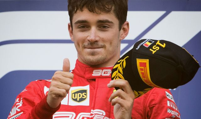 Charles Leclerc beats F1 rivals, and Jenson Button, to win Virtual GP