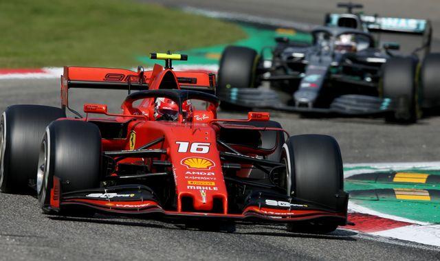 Karun Chandhok: How Charles Leclerc beat Mercedes at Monza