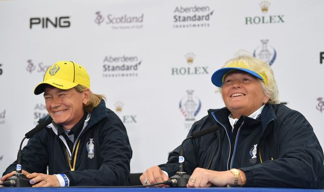 Solheim Cup: Dame Laura Davies plays down inexperience on USA team