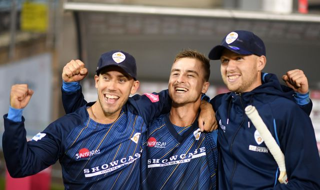 Dominic Cork says Derbyshire can win first Finals Day if they continue to punch above their weight