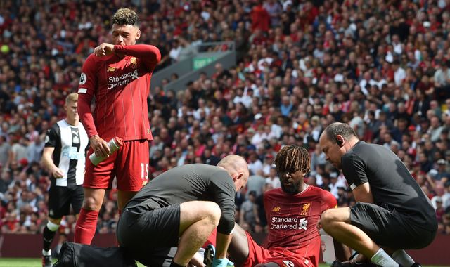 Liverpool's Divock Origi will have scan on injury which forced him out of Newcastle win, says Jurgen Klopp
