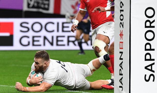 England's Eddie Jones grateful for 'Fergie Time' after bonus-point win over Tonga