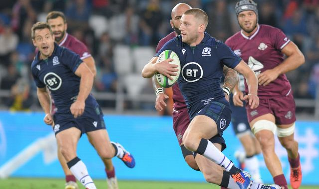 Finn Russell omission from Scotland squad for Ireland game came after drinking incident