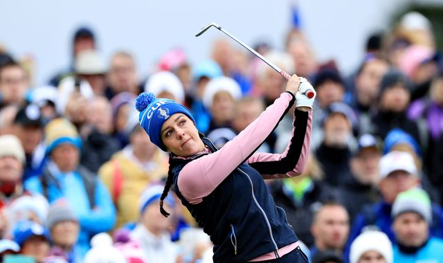 Solheim Cup: Europe and USA level at 8-8 after day two at Gleneagles