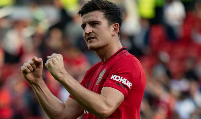 Ole Gunnar Solskajer thinking about Harry Maguire as 'future Manchester United captain'
