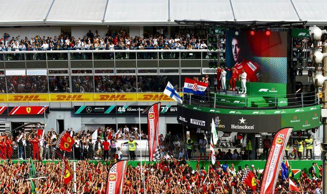 Rachel's diary: Charles Leclerc, Ferrari and Monza emotions