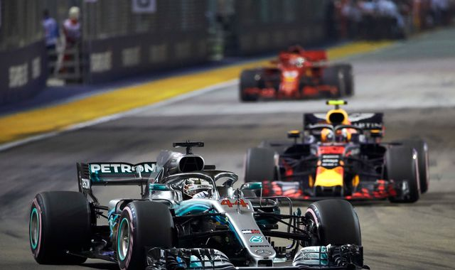 Singapore GP set for pecking order refresh as Red Bull battle Mercedes
