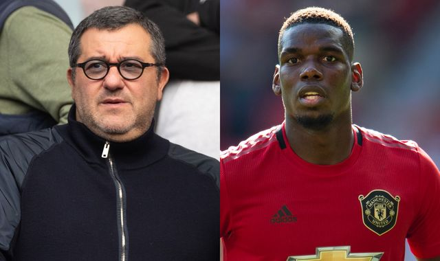 Gary Neville says Paul Pogba's agent Mino Raiola is a disgrace and urges Manchester United to steer clear