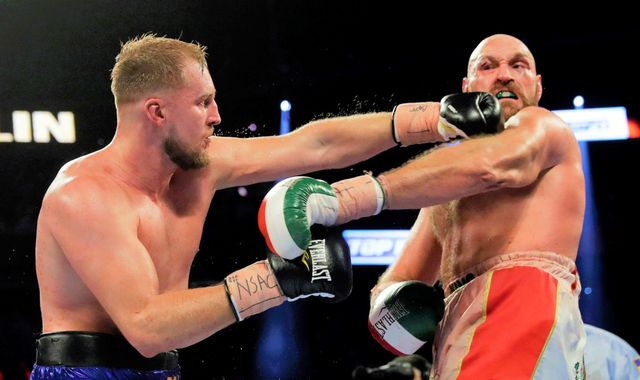 Otto Wallin wants Tyson Fury rematch or Anthony Joshua fight, says the Swede's promoter
