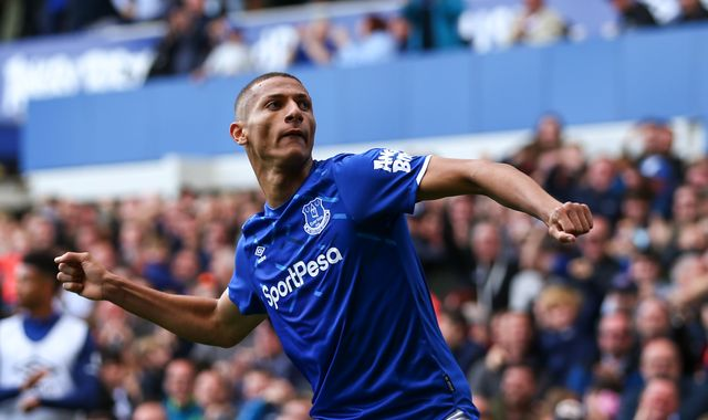 Richarlison: Everton reject Barcelona's £85m offer