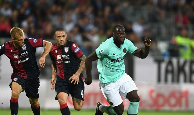 Romelu Lukaku: Cagliari to face no punishment over supporters' racist chanting