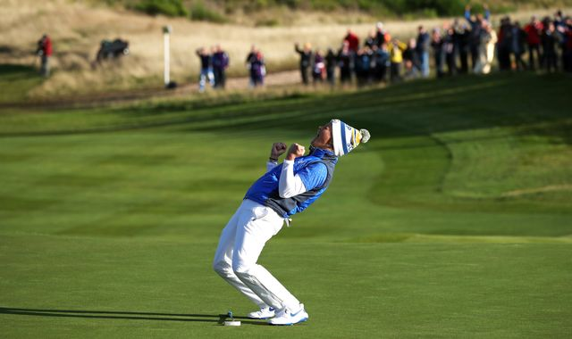 Solheim Cup: Europe claim stunning one-point win at Gleneagles
