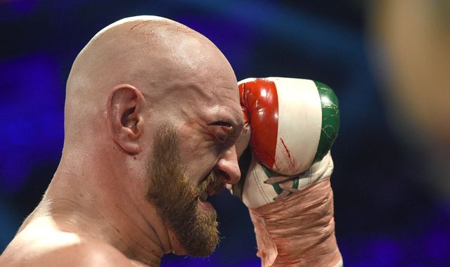Tyson Fury made generous gesture to help cut-man who saved him during Otto Wallin fight