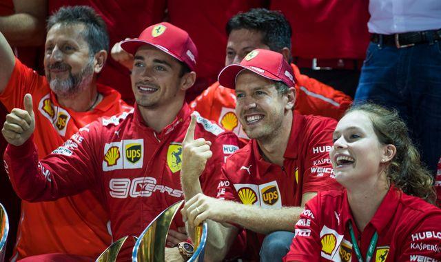 Ferrari explain Sebastian Vettel, Charles Leclerc calls in Singapore