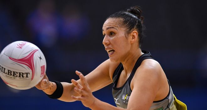 Liana Leota was part of the Manchester Thunder team that beat Wasps to the Superleague title earlier this year